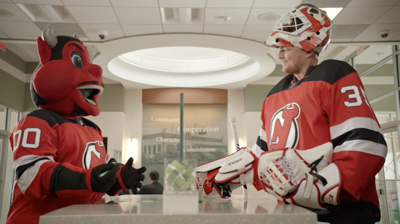 "The 2017-18 New Jersey Devils hockey season is underway and there is sure to be a lot of ""checking"", both on and off the ice. Source continues to help build on a strong business relationship between Investors Bank and the New Jersey Devils by launching the New Jersey Devils Checking account."