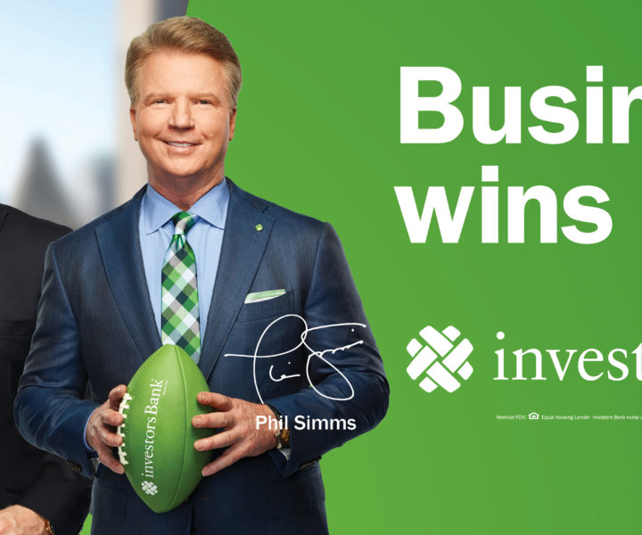 "After a great first year partnership with Investors Bank, these two New York football icons return to continue the ""Experts in the Field"" campaign. Phil Simms and Boomer Esiason will be featured in two new spots breaking this Spring created by Source in partnership with the Investors Bank team."