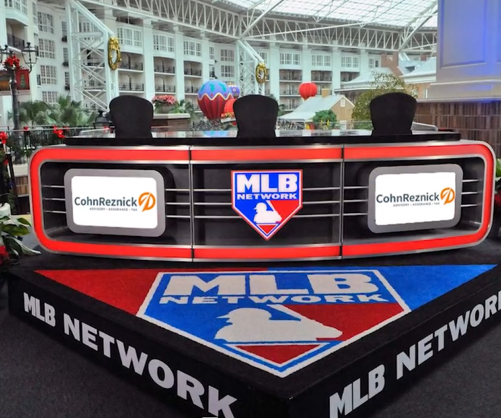 Source created a first-of-its-kind partnership with Major League Baseball for top accounting and advisory firm, CohnReznick. As the presenting partner of the 2018 Winter Meetings in Las Vegas, this relationship also includes two unique video content series, The Business of Baseball and Front Office Focus.